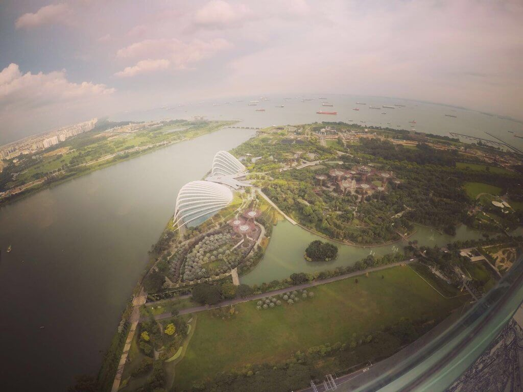 סינגפור מלמעלה