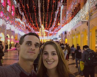 אורות ערב ברחוב