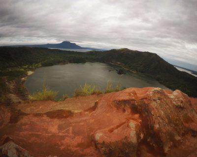 הר געש ואגם