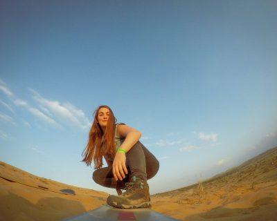 גלישה בחול