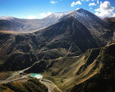הרים בדרך הצבאית, גאורגיה