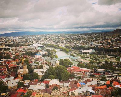 הנוף בטביליסי
