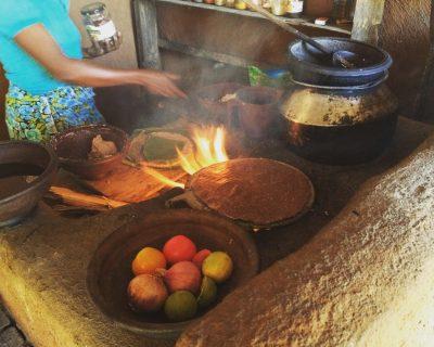 בישול בסיור חווה